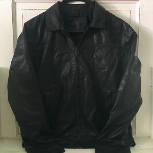 Men's Calvin Klein Faux Leather Jacket
